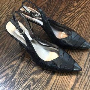 Anne Klein Charcoal Heels size 7.5